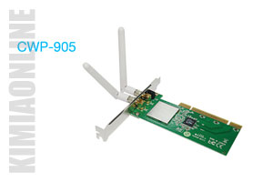 کارت شبکه سی نت CWP-905، LAN Card CNet Wireless-N PCI Adapter CWP-905