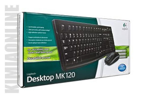 کیبورد لاجیتک MK120 Desktop keyboard & Mouse
