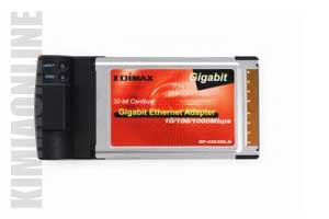 عکس کارت شبکه ادیمکس EP-4203DL، عکس LAN Card Edimax Gigabit Ethernet Cardbus Adapter EP-4203DL