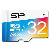 Memory Cards Silicon-Power Color Elite UHS-I U1 Class 10 85MBps microSDHC With Adapter - 32GB