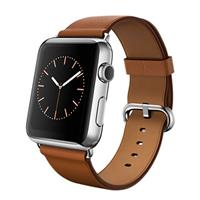 Digital Watch - SmartBand Apple 42mm Stainless Steel Case with Saddle Brown Classic