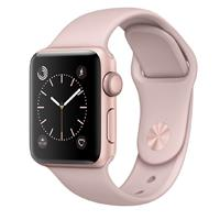 ساعت و مچ پند اپل Watch 38mm Rose Gold Aluminium Case with Pink Sand Sport Band