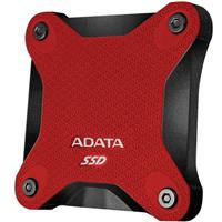 SSD Hard ADATA SD600 External Drive Red - 256GB