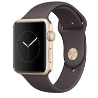 Watch - SmartBand Apple Watch 2 42mm Gold Aluminum Case with Cocoa Sport Band